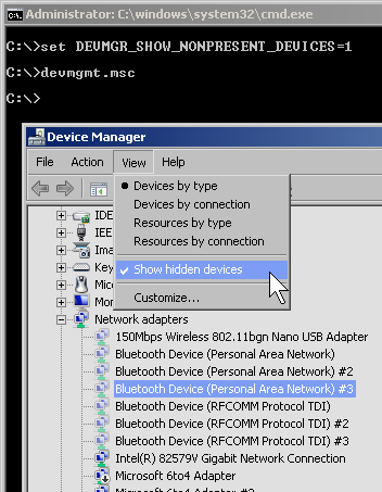 Cleaning up Network Connections in Windows 7 - Bit Armory Blog